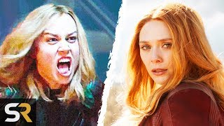 Why Captain Marvel Is Stronger Than Scarlet Witch In The MCU
