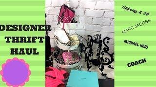 4a769696c088 16 11 · Huge Thrift Haul Designer Handbags Tiffany   Co