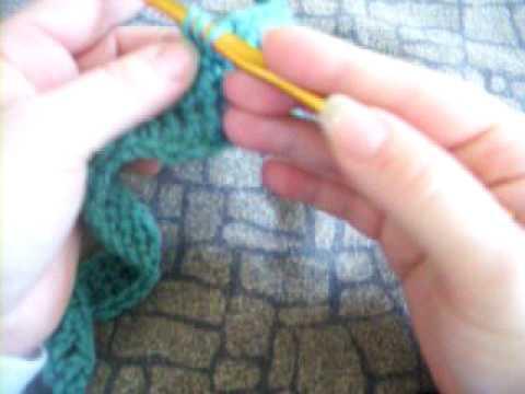 Crochet - single crochet decrease (sc dec or sc 2 tog)