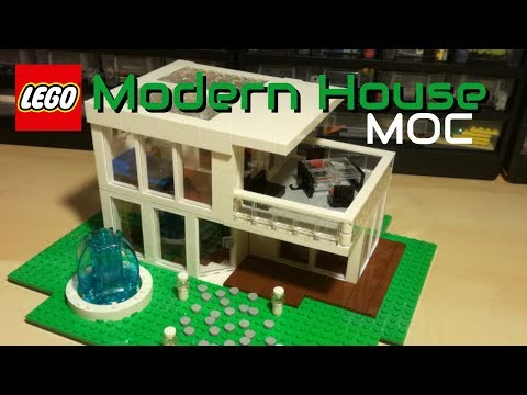 LEGO Modern House MOC