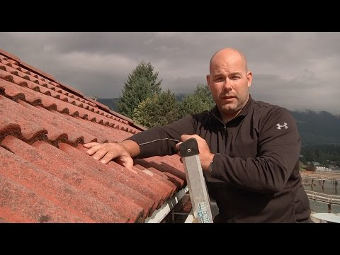How to Assess a Cement Tile Roof