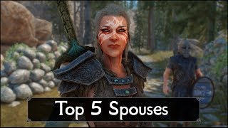 Skyrim: Top 5 Spouses You Must Marry - Greatest Wives and Husbands of The Elder Scrolls 5: Skyrim