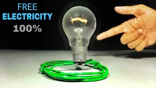 Free Energy Science Experiment  - 100% Real