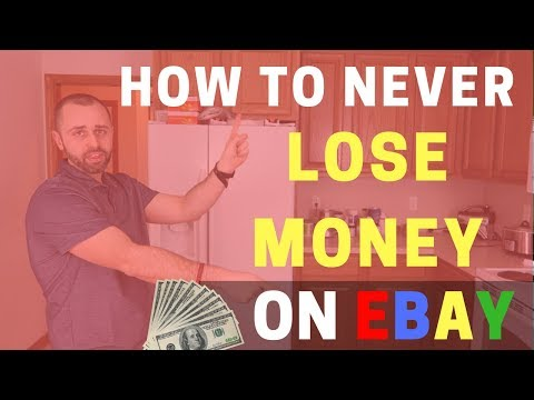 How To Never Lose Money Selling On Ebay