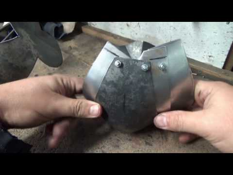 How to make armour articulations. The arm harness pt. 3. Medieval armor techniques #5