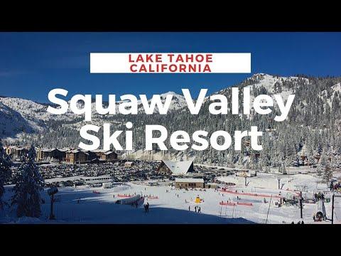 Squaw Valley Ski Resort in California's Lake Tahoe
