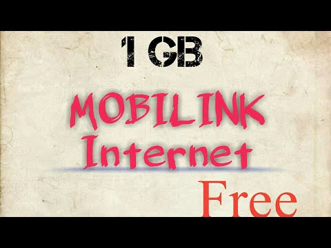Mobilink 1 GB Free Internet code 2017