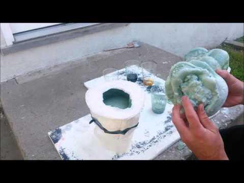 Making foam skulls
