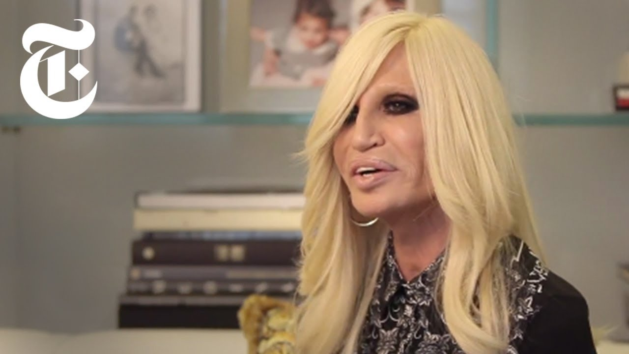 Donatella Versace Interview   In The Studio   The New York Times