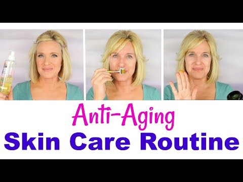 My ANTI-AGING Skin Care ROUTINE! Reduce WRINKLES & DISCOLORATION! (2018)
