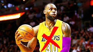LeBron James Saying NO to Becoming a Laker??