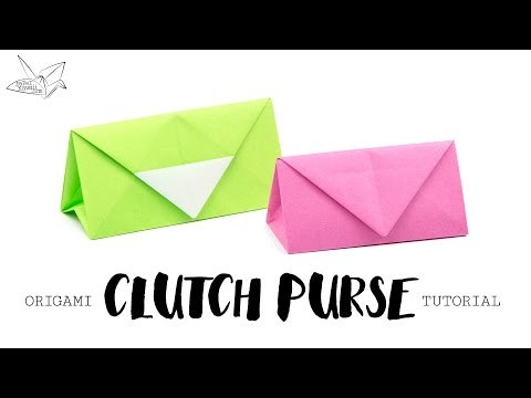 Origami Purse / Bag Tutorial ♥︎ DIY ♥︎ Paper Kawaii
