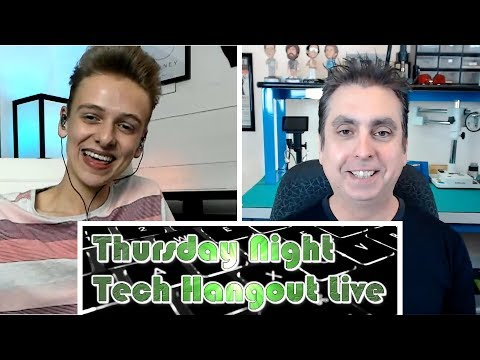 Tech Hangout Live with Luke from Mac Square