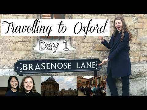 Travelling to Oxford for Interviews Vlog & 100k Subscribers!!