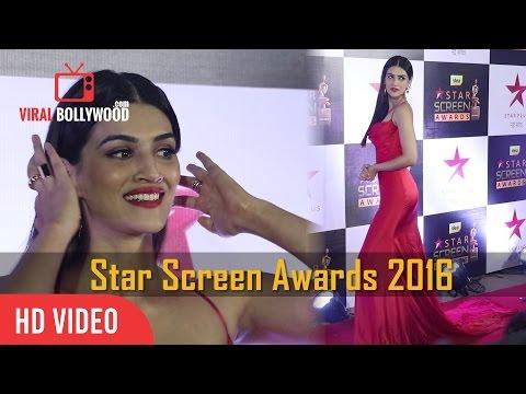 Xxx Mp4 Kriti Sanon At Star Screen Awards 2016 Viralbollywood 3gp Sex