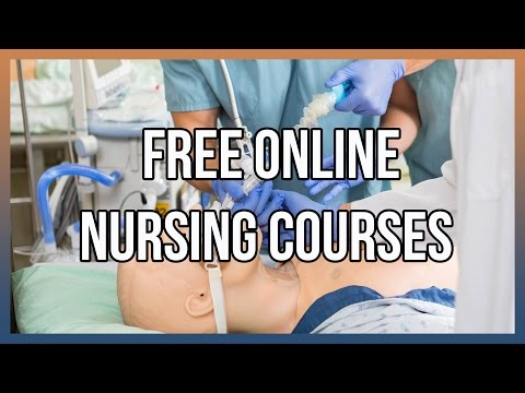 Free Online Nursing Courses