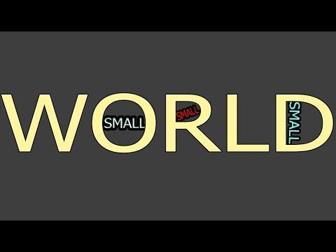 Small world II Photoshop CS6