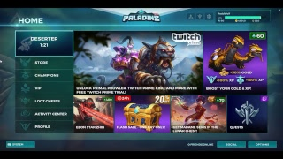 Paladins Live-Stream: Noobing with Vivian