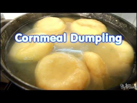 Cornmeal Dumpling Jamaican Good Food At Home | Recipes By Chef Ricardo