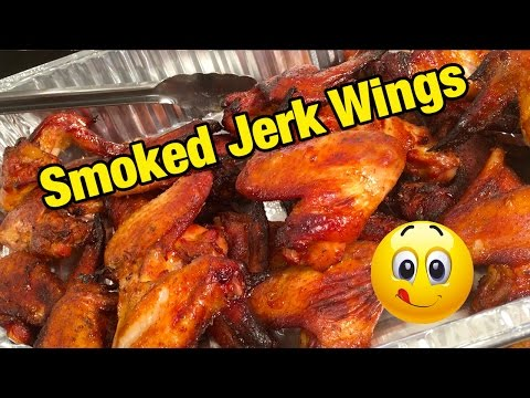 Smoked Jerk Wings - Grilla Grills