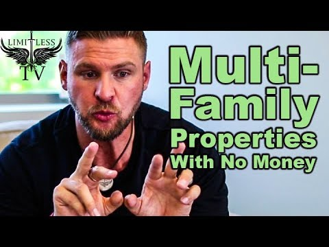 How To Buy A Multifamily Property With No Money