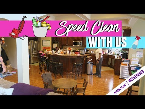 Cleaning 2018 // Speed Cleaning my house Routine // Motivation