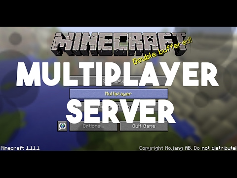 How to make a Minecraft Multiplayer server