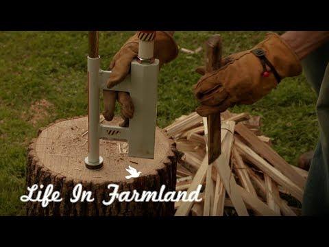 The Winner Of The Logosol Log Splitter Is ....