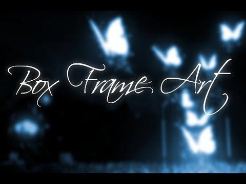 ASMR Art - Making Box frame Art