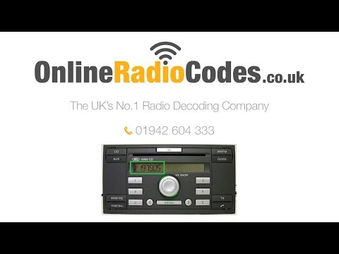 🚗How To Generate Your Ford Radio Code Online Instantly.