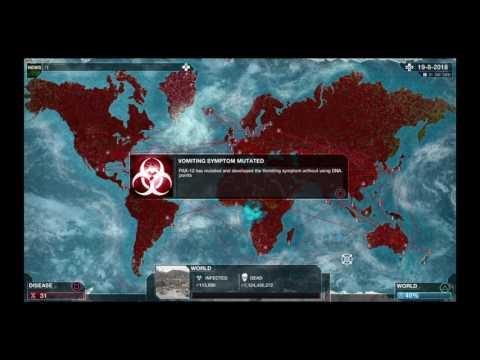 Plague Inc: Evolved all genes glitch