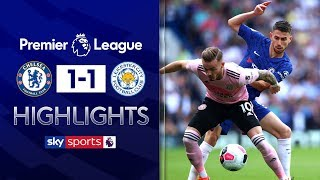 HIGHLIGHTS | Chelsea 1-1 Leicester City | Premier League | 18th August 2019