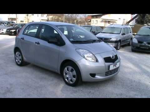 2006 Toyota Yaris 1.3 VVT I LUNA Full Review,Start Up, Engine,