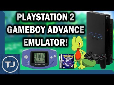 PS2 GameBoy Advance Emulator! (TempGBA) 2018!