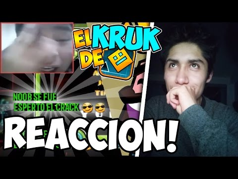 EL MAS CRACK DE GEOMETRY DASH! 😎😎 | Video Reacción | SirKaelGD