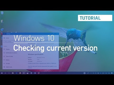 Windows 10 tutorial: Check if your PC is running Fall Creators Update