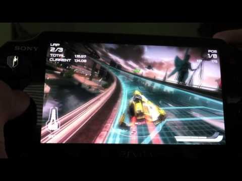 PS Vita Wipeout 2048 Gameplay