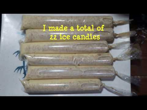 Creamy Mango Graham Ice Candy