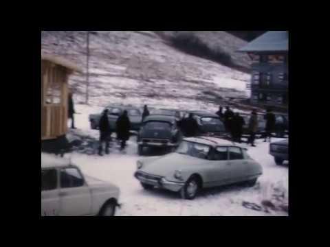 1970 - Inauguration des télésièges du Ranfoilly et Mont Chéry - Les Gets