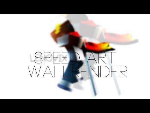 Speed Art WallRender Minecraft C4D