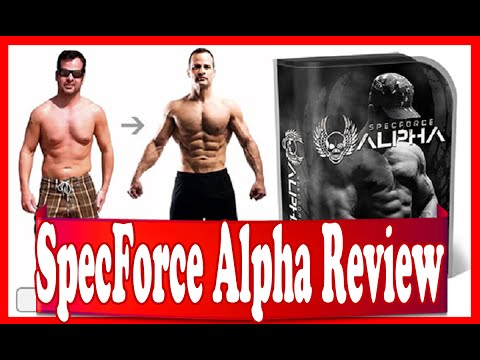 SpecForce Alpha Review  - Build Strength And Endurance With This Ultimate Fitness Challenge