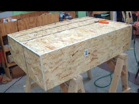 HOW TO MAKE A COFFEE TABLE FRAME FOR UPHOLSTERING - ALO Upholstery