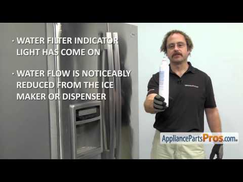 Refrigerator Water Filter (part #5231JA2006F) - How To Replace