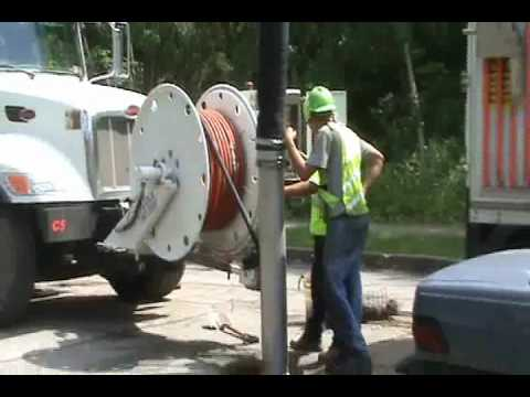 INSIGHT PIPE CLEANING SEWER LINE