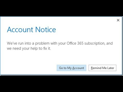 How to Change/Switch/Remove Office 365 licence - Fix Office 365 Subscription issue