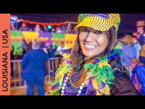 Mardi Gras parade Louisiana