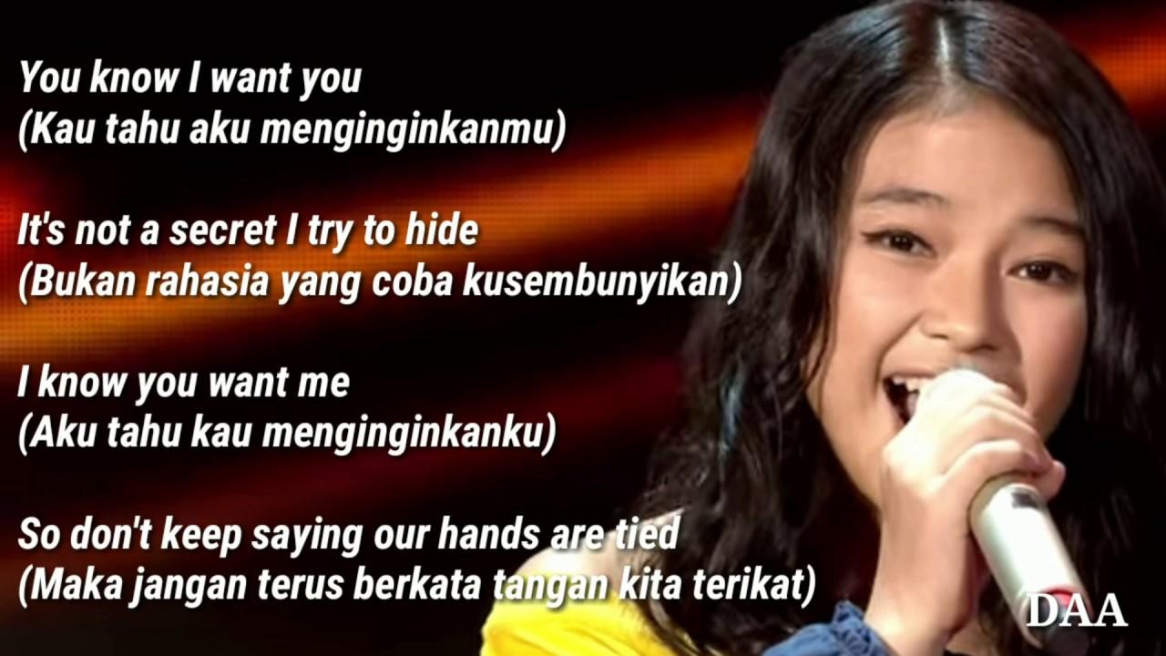 Lirik Terjemahan | ANNETH - REWRITE THE STAR - GRAND FINAL - INDONESIAN IDOL JUNIOR 2018
