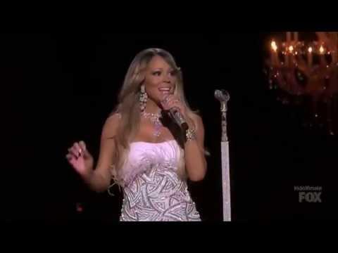 PROOF Mariah Carey Was Not Lip Synching on American Idol!!!