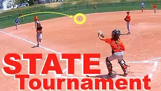 LITTLE LEAGUE BASEBALL State Tournament! GAME 1⚾️