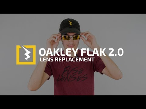 How to Change the Lenses in Your Oakley Flak 2.0